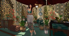 an Arabian 1001 night for you (nicandralaval1) Tags: circa axlpro vw td n4rs illuminateevent {anc} ymshop stealthic aisling jewelry fashion secondlife secondlifefashion laq skin arabian moroccan ottomans orient oriental tdb