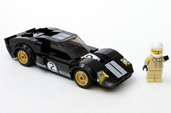 1966 Ford GT40 - 75881 Set Mod (HotDogSandwiches) Tags: lego cars speed champions