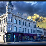 Geiser Grand Hotel - Baker City Oregon - Historic Hotel at Sunset thumbnail