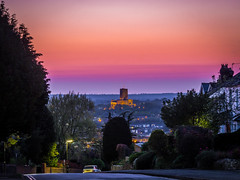 Sunset Over Guildford Cathedral (tommosnaps) Tags: sunset cathedral guildford surrey uk england photography olympus omd em10 evening