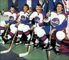 Winnipeg Jets promoting 7up (vintage.winnipeg) Tags: winnipeg manitoba canada vintage history historic sports winnipegjets