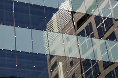 city landscape (Lucie Maru) Tags: geometry reflection city urban glass windows reflect buildings architecture