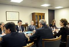 Visita ministre d'Acció i Comptes Públics francès Sr.Gérald Darmanin.16-03-2018 (Govern d'Andorra) Tags: ministre frança exteriors finances govern martí ubach cinca darmanin