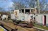 DB993733 (R~P~M) Tags: train railway abandoned disused brakevan guardsvan shark shenfield essex england uk unitedkingdom greatbritain