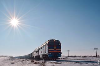 Diesel locomotive 2TE116UD-075...