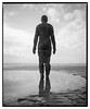 Crosby_Beach-4 (D_M_J) Tags: crosby beach sand antony gormley sculpture another place landscape uk north west england coast film camera medium format 120 roll 6x7 mamiya rb67 pro sd ilford delta 100 kodak hc110 epson v850 vuescan black white bw blackandwhite mono monochrome