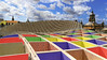 Imaginando colores - Imagining colors (ricardocarmonafdez) Tags: sevilla metropol setas arquitectura architecture estrutura structure color cielo sky nubes clouds torres domes tower cupulas perspectiva imaginacion imaginatión effect edition