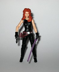 mara jade star wars the black series #14 3.75 inch basic action figures expanded universe 2013 hasbro g (tjparkside) Tags: mara jade star wars black series tbs 375 inch basic action figure figures luke skywalker assasin emperor palpatine 14 lightsaber hilt blaster pistol holster purple 2013 eu expanded universe hasbro