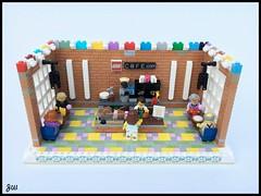 LEGO C@FE (jarekwally) Tags: wallyjarek lego cfe cafe coffee jarekwally moc creation brickie zbudujmyto lugpol minifigures rebrick competition