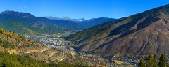 Thimphu, Bhutan (Alex Tudorica) Tags: buddha thimphu buddhist asia himalaya bhutan bhutanese panorama travel travelling mountains city capital kingdom