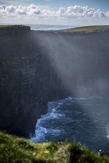 Light over the Cliffs
