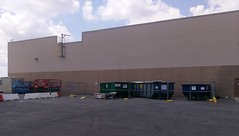 Rear view of the Southaven Sam's Club during remodel (l_dawg2000) Tags: 2017remodel apparel café desotocounty electronics food gasstation meats mississippi ms pharmacy photocenter remodel samsclub southaven tires walmart wholesaleclub unitedstates usa