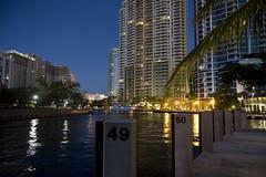 Tarpon River dawn (back stage) Tags: tarponriver water sky blue dawn hotel reflection outdoors palmtree ftlauderdale florida
