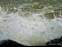 Splash! (Kinsella Media) Tags: water sea splash crash crashing wave waves shore coast coastal shoreline marine foam