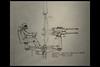 star wars IV - a new hope - milennium falcon concept sketch 01 1977 johnston j (cinemec utrecht 2017) (Klaas5) Tags: nederland netherlands niederlande cinemecutrecht starwarsidentities exhibition tentoonstelling filmdesign artdirection sketch schets designsketch