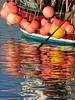 Morning Reflection (ShrubMonkey (Julian Heritage)) Tags: reflections misspattie boat fishingboat details coast coastal seaside colours floats buoys gear harbour lymeregis dorset nautical buoyant yearend18