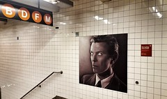 David Bowie Subway Takeover at Broadway-Lafayette, NYC (SomePhotosTakenByMe) Tags: davidbowieishere davidbowie bowie subway ubahn indoor broadwaylafayette station ausstellung exhibition nyc newyork newyorkcity usa amerika america stadt city downtown innenstadt urlaub holiday vacation noho manhattan