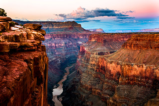Fine Art Grand Canyon National Park Toroweap Sunset Dusk over North Rim of the Grand Canyon (Tuweep)!  Nikon D810 Dr. Elliot McGucken High Res Fine Art Landscape & Nature Photography for Gallery Show!  Nikkor Wide Angle 14‑24mm F/2.8 EG