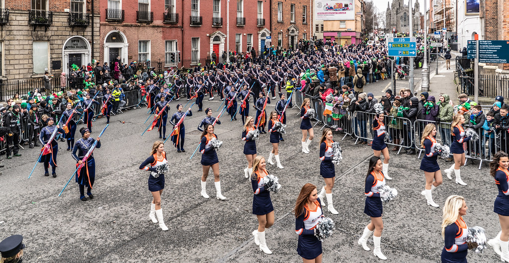 DUBLIN SAINT PATRICKS PARADE 2018 [THE MARCHING ILLINI]-137389
