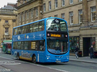 Go North East 6066 NK62CYC: Volvo B5LH hybrid