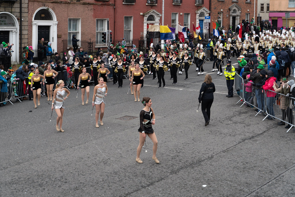 PURDUE ALL AMERICAN MARCHING BAND [DUBLIN PARADE 17 MARCH 2018]-137680