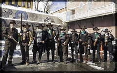 601 Group of Virginia City, NV (melody_hoover) Tags: cemetery d810 melodyhooverphotography music nvphotographer naturallight nikon oldwest outdoor pubcrawl reddogsaloon smalltown smalltownsaturdaynight stpattysday virginiacitynv actors costumes cowboys gunslingers landscape snow winter
