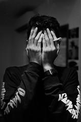 No face (cerealmurderer) Tags: 35mm portrait nikon fm2n ilford delta 400 1600 bw shot film