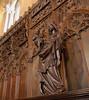 Hearst Castle (mademoisellelapiquante) Tags: california heartscastle architecture sansimeon hearst castle madonna madonnaandchild virginmary medieval middleages williamrandolphhearst arthistory interiordesign woodwork carving woodcarving
