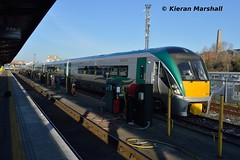 22004 at Heuston, 20/3/18 (hurricanemk1c) Tags: railways railway train trains irish rail irishrail iarnród éireann iarnródéireann dublin heuston 2018 22000 rotem icr rok 3pce 22004