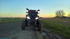 The ATV / Quad. (PhotoTJH) Tags: phototjh phototjhnl quad atv allterrainvehicle road legal weg legaal zwart black egl eglmotor lyda lyda203e1 lyda203e2 203 203e1 203e2 motorpromo 4stroke china chinese