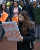 When Kids Lead Adults (Scott 97006) Tags: kid girl sign protest leadership lead leading