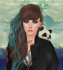 Alpine (KristenStarquill) Tags: secondlife second life virtual sl mountains avatar panda truth vale koer blueberry catwa villena vinyl