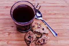 Coffee and Cookies!! (BGDL) Tags: lightroomcc nikond7000 bgdl afsnikkor50mm11 niftyfifty coffee spoon mug cookies 7daysofshooting week35 commonpractices texturetuesday