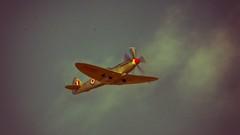 Silver Spitfire #1 (_J @BRX) Tags: battleofbritainmemorialflight bbmf supermarine spitfire mkprxix ps915 silver raf royalairforce coningsby spring april 2018 lincolnshire england uk nikon d5200 sigma griffon