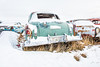 A Different Side Of Me (DeVaughnSquire) Tags: vintage cars winter cold snow freezing rustic abandoned metal old forgotten
