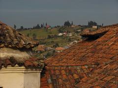 Paisaje coguano entre tejados (Jucarob) Tags: cogua cundinamarca colombia paisaje landscape