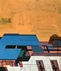Jim Harris: New Earth 14 (Jim Harris: Artist.) Tags: art painting peinture abstract avantgarde architecture saitama space zeitgenössische modern maalaus malerei málverk modernart makabe himmel