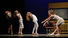 The bend and snap! #2 (R.A. Killmer) Tags: bend snap bethelpark dance performance legally blonde actors stage costume