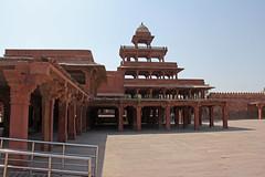 Fatehpur Sikri - (101) (Rubén Hoya) Tags: fatehpur sikri templo palacio capital imperial rajasthan india