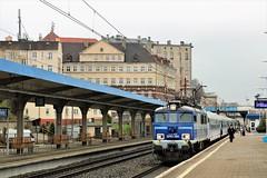 EP07-384 Stettin 14-04-2018b (vorstadtjazz) Tags: ep07384 ep07 icc pkpicc pkp polska poland polen stettin szczecin szczecinglowny eisenbahn bahnhof bahn hauptbahnhof ic intercity