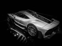 Project ONE (Dave GRR) Tags: exotic hyper mecedes benz toronto auto show 2018 monochrome chrome mono bw olympus omd em1 1240
