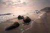 Sellin (Thomas Franke Photography) Tags: baltic sea balticsea ostsee sellin steine wellen meer nebel gischt sonnenaufgang sunrise wolken himmel seascape landschaft landescape moody waves rügen dunst morgens