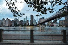 Roosevelt Island, 08.17.16 (gigi_nyc) Tags: queensborobridge bridge nyc rooseveltisland newyorkcity summer nycskyline