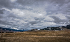 hidden valley in the clouds (sassiitalytours) Tags: montana missoula flattop