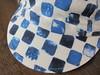 【 水彩市松 SUISAI-ICHIMATSU 】 (jun.skywalker (enishi hand made cyclecap)) Tags: 縁 enishi 水彩市松 suisaiichimatsu cyclecap cyclingcap kyoto nishijin japan 市松模様 青 blue