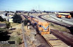 3384 N1881 DA1572 Claisebrook 29 December 1982 (RailWA) Tags: railwa philmelling westrail 1982 n1881 da1572 claisebrook