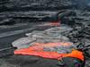 Overflowing the Lava Lake (Fotografie mit Seele) Tags: ertaale danakildepression afar triangle volcano vulkan äthiopien ethiopia lava eruption red smoke liquid crust kruste pahoehoe
