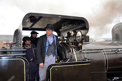 Bellerophon - smartly turned out! (davids pix) Tags: bellerophon haydock foundry richard evans james cross industrial steam locomotive preserved crew bowler hat severn valley railway 2018 17032018