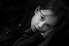 Alice (Gari VALDEN) Tags: noir blanc black white young girl jeune fille et nuit night canon 1755 cute
