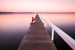 Winding Down On The Jetty || CENTRAL COAST || NSW (rhyspope) Tags: australia aussie nsw new south wales central coast tuggerah lake water reflection long jetty rhys pope rhyspope canon 5d mkii sunrise sunset wharf pier